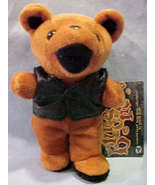 "GRATEFUL DEAD  BLUES MAN 7"" PLUSH BEAN BEAR WITH NAME TAG - $12.99"