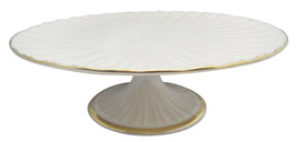 Lenox Plaza Collection Footed Cake Plate NEW - $49.49