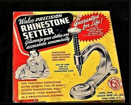 Vintage Walco Precision Rhinestone Setter with box AA19-1429 image 5