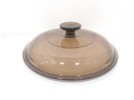 PYREX Corning Ware VISIONS Replacement Lid 8 1/2 Inch, Round, Amber, V2.5C - $29.99