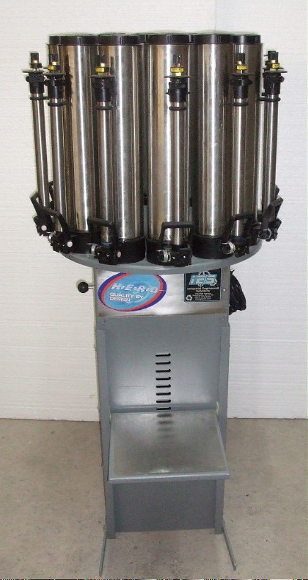 warranty Harbil NSC-50 Color Dispenser Replacement Canister only 1 yr