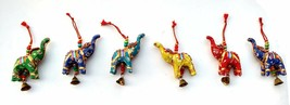 Elephant Bell Decorative Hanging Layer Set of 6 (MIX)  - $10.85