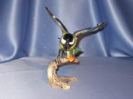 Great Titmouse Bird Figurine by W. Goebel. - $39.00