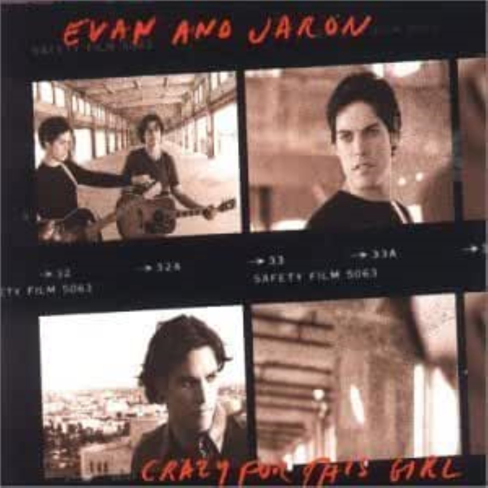 Crazy for This Girl by Evan & Jaron  cd