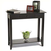 Convenience Concepts American Heritage Hall Table with Drawer and Shelf,... - $160.97