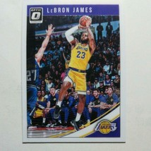 LeBron James Panini 2018-19 Donruss Optic Basketball trading card L.A. L... - $32.66