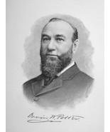 ORRIN POTTER Chicago Illinois Manufacturer Capitalist - 1895 Portrait Print - $9.44