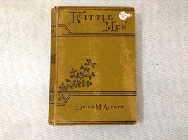 Little Men by Louisa M. Alcott Antique Hardcover Book