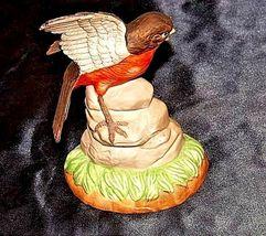 Robin Bird FigurineAA18-1236 VintageCeramic image 5