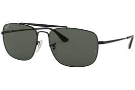 Rayban RB3560 002/58 Gafas de Sol Negro Polarizado Lente Gris 58mm - $122.49