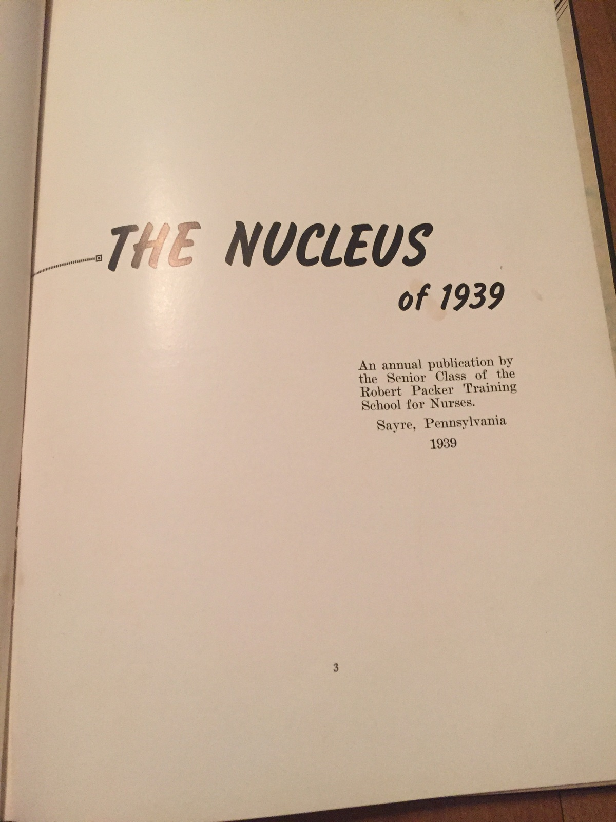The Nucleus 1939 yearbook drh111