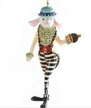 NEW Mackenzie Childs Rabbit Ornament - Alice in Wonderland - Discontinued  - $108.90
