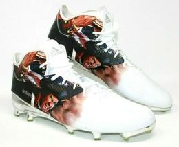 Adidas Size 16 Adizero Minutemen Graphic Football Cleats Ironskin RARE NEW - $49.87