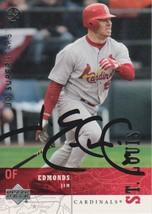Jim Edmonds Signed Autographed 2003 Upper Deck Baseball Card - St. Louis... - $12.99