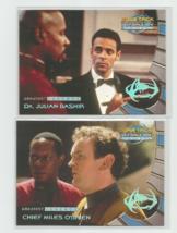 Greatest Legends 1999 FLEER/SKYBOX Star Trek Deep Space Lot Of Eleven (11) - $6.79