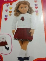 "Fashion Outfit Fits Most 18"" Dolls Clothes Clothing School Uniform Student NIB - $13.69"