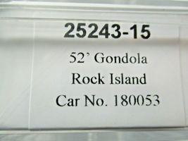 Trainworx Stock # 25243-13 to -18  Rock Island 52' Gondola N-Scale image 7