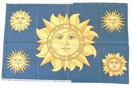 Daisy Kingdom Fabric Panel The Sun #6295 Maggie Raguse 1993 - $9.88