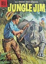 Jungle Jim #16 Dell Comic 1958 Silver Age FN+/VF- - $15.59
