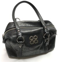 Coach Julia Leather Small Bag NEW $300 Dark Gray Leather Handbag  - ₨6,529.27 INR