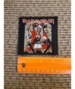 Iron Maiden Rock Band Screen Printed Limited Edition Sew or Iron on Patc... - $14.70