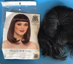 Peggy Sue Black Wig  by Franco 21020-01 Costumania Cleopatra Washable - $15.99