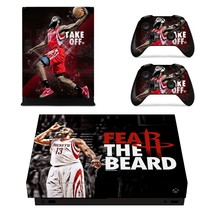 James Harden xbox one X skin decal for console and 2 controllers - $15.00