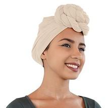 30 Colors| Novarena 1-4 Pc Solid Color Head Wrap Stretch Long Hair Scarf Turban  image 1