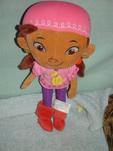 "Disney Junior Izzy Doll 13"" Plush Jake & The Neverland Pirates - $14.00"