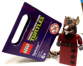 LEGO - 850838 - Exclusive Teenage Mutant Ninja Turtles - Splinter Key Chain - $9.85