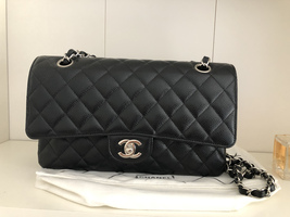 Chanel Caviar Quilted Medium Double Flap Black - $6,899.00