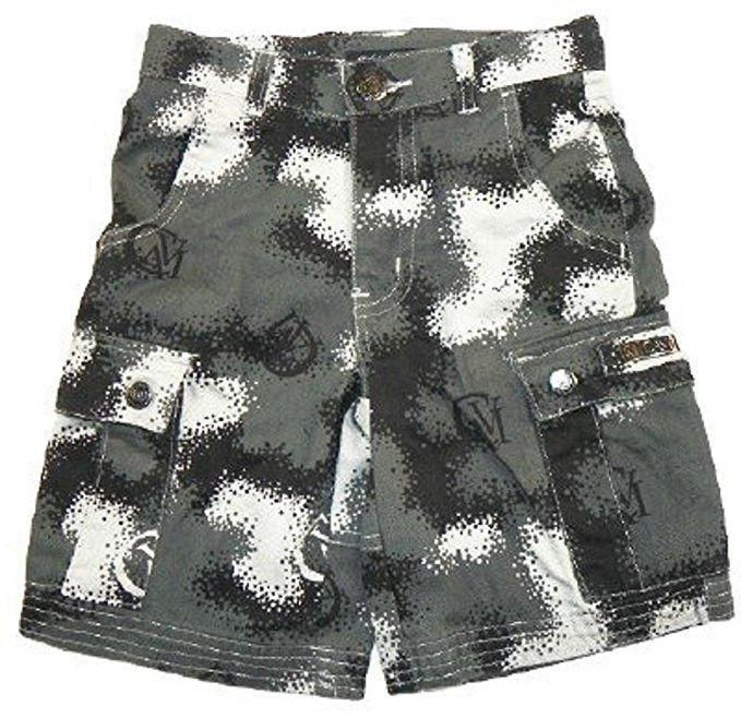 Boys 4-7 Cargo Shorts CAVI Spec Camo Short Adjustable Waist Cotton Pockets NEW