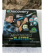 Discovery Kids Air Powered Blaster Launches up to 20 Feet NEW - $19.79