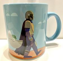 NEW Large 20 oz Ceramic Star Wars The Mandalorian Mug - Limited Item - $21.78