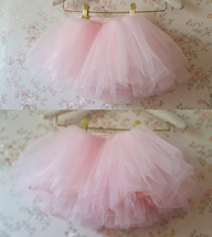 BABY PINK Mother Daughter TUTU Skirt Set Baby Shower Photography Props image 4