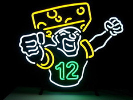 "New NFL Green Bay Packers 12 Logo Football Beer Bar Neon Light Sign 22""x... - $169.00"