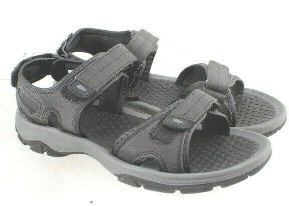 Khombu Mens River Beach Hiking Summer Active Sandals Black Size 8 US NWT