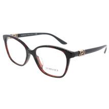 Versace Women Eyeglasses VE3235BA 989 Red/Havana Frame Demo Customisable Lens - $97.02