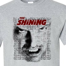 The Shining t-shirt Jack Torrance All work Stephen King graphic tee 100% cotton image 1