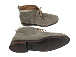 Cole Haan Mens US 11 Tan Gray Suede Chukka Boots - $22.91