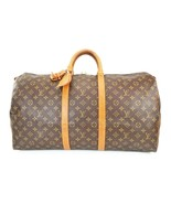 Authentic LOUIS VUITTON Keepall 55 Monogram Canvas Duffel Bag #39280 - $597.60