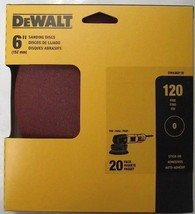 """Dewalt DWAS60120 6"""" No Hole PSA Sanding Discs 120 Grit 20Pack - $3.96"""