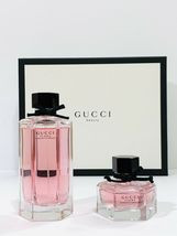 Gucci Flora Gorgeous Gardenia Perfume 3.3 Oz Eau De Toilette Spray 2 Pcs Set image 1