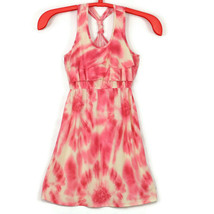 Pink Republic Girls Dress Tie Dye Racer Back Pink Size L Large 14 - $19.75