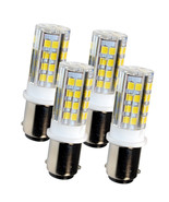 4-Pack HQRP BA15d LED Bulb for Kenmore 117.959 158.104 158.141 158.161 1... - $24.95