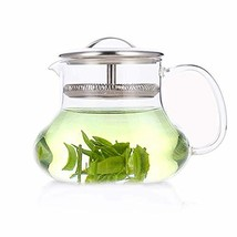 Yama Glass YAMEP6 Sitka Teapot Tea Pot Server, 12oz, Clear - $41.49