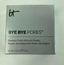 IT  Bye Bye Pores Poreless Finish Airbrush Powder~Translucent~0.23 oz. Lot of 2 - $47.29