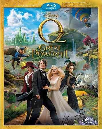 Oz the Great and Powerful (Blu-ray/DVD, 2013, 2-Disc Set)