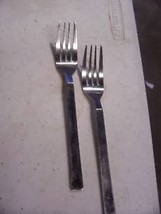 CAMBRIDGE CBS 62 FORK(S) SET OF 2 stainless steel vgc - $7.66