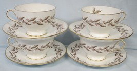 Minton Rosewood S-540 Cup and Saucer Set of 4 - $36.52